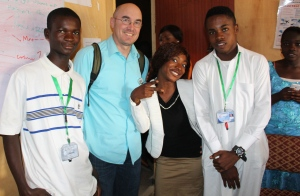 My visit with students at ECWA International College of Technology in Jos, Nigeria.